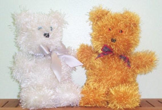 Easy To Knit Teddy Bear Knitting Pattern Etsy