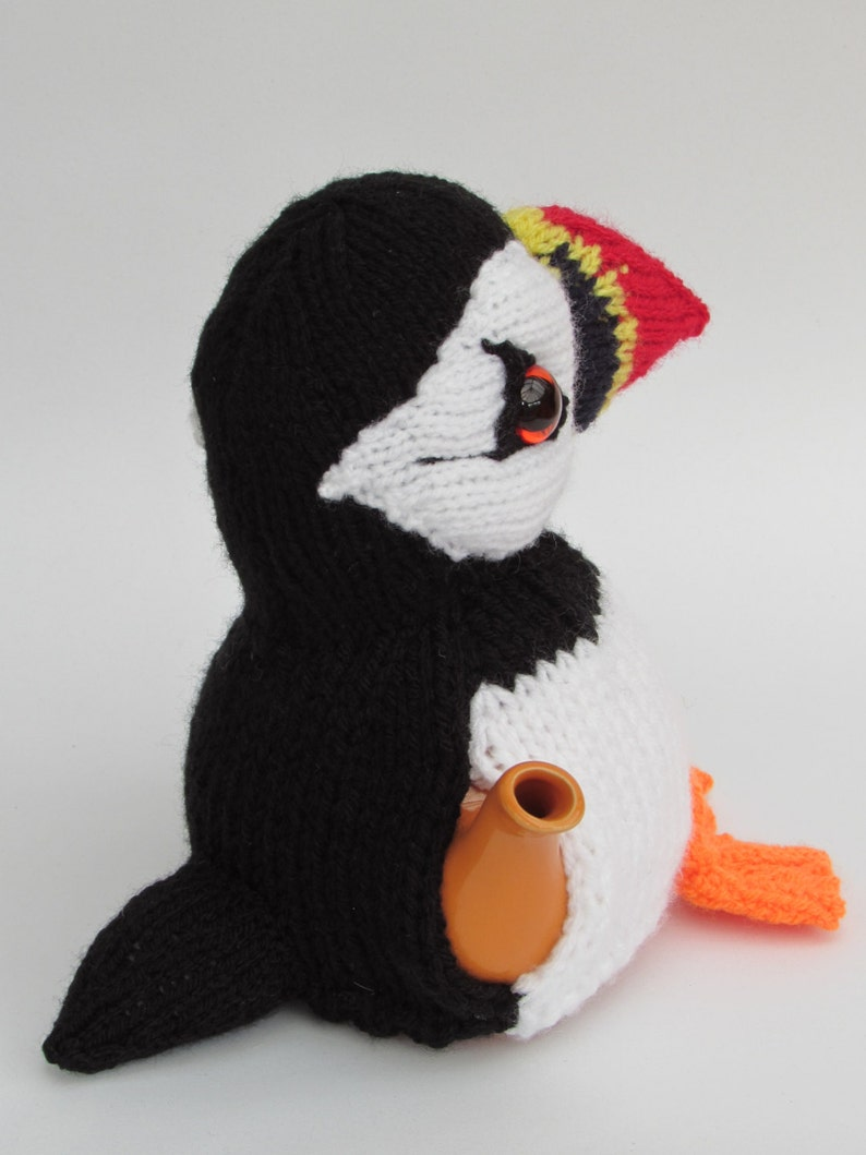 Puffin Tea Cosy Knitting Pattern | Etsy