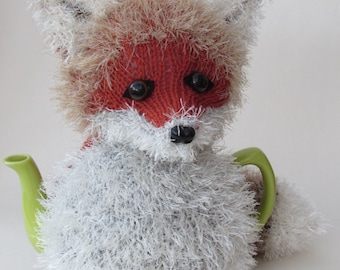 Fox Tea Cosy Knitting Pattern