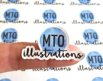 Any Shape Logo Stickers - Business Stickers/ Labels - Logo Labels - Packaging Stickers - Stickers for Envelopes - Custom Logo  Stickers