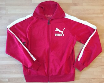 Classic PUMA track jacket    womens L 823ed29d8d33b