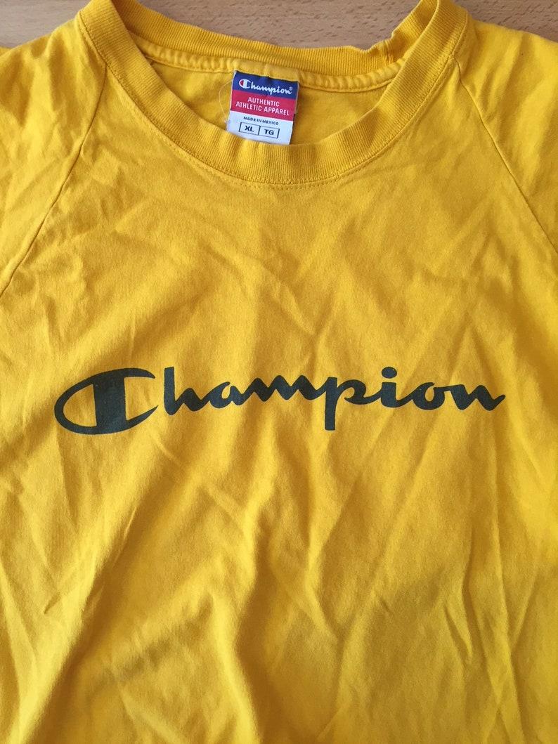 97fc2d39585541 Vintage Champion sleeveless T-shirt    mens XL