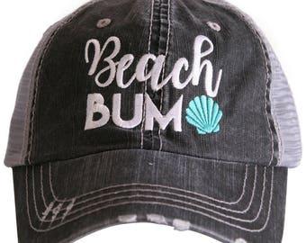 28d2c8ed23b2bf Free Shipping - Beach Bum Women's Trucker Hat - KDC-TC-355