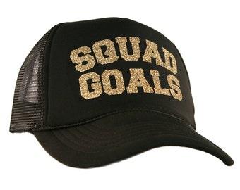 Free Shipping - Squad Goals Women s Trucker Hat - KDC-DECTC-600 ecb9ecbd75e9