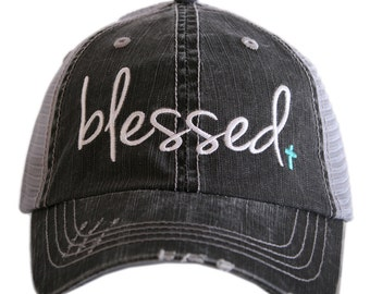 aeace720141 Free Shipping - Blessed Women s Trucker Hat - KDC-TC-189