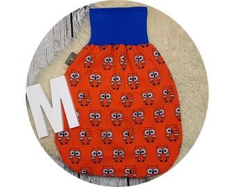 Sleeping bag, baby, sack, foot bag, Pucksack, sleeping, baby accessories, Original equipment, gift, romper Sack, owl, owls, owl, Retro