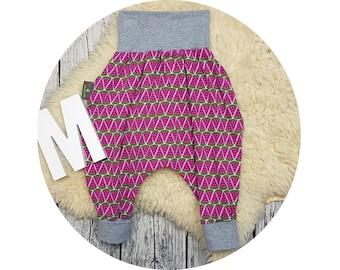 Pumphose, harem trousers, baby pants, baby, trousers, Jerseyhose, wax trousers, melon, melon, fruit, fruit