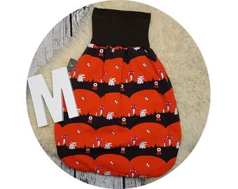Sleeping bag, baby, sack, foot bag, Pucksack, sleeping, baby accessories, Original equipment, gift, romper Sack, bunny, retro, mushrooms
