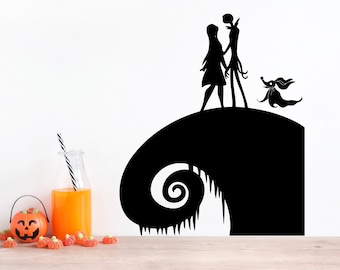 Nightmare Before Christmas Wall Decal Etsy
