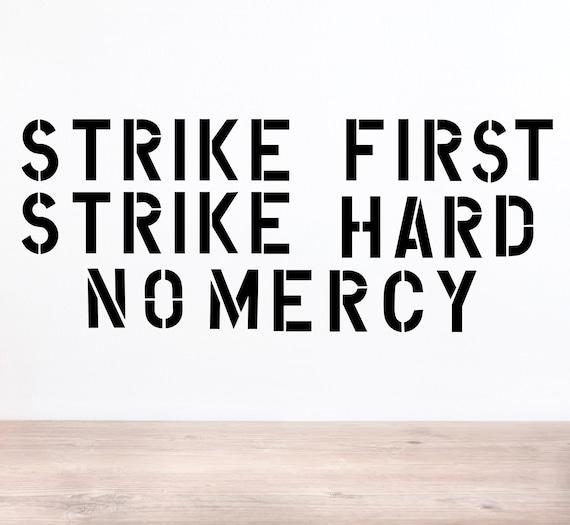 Cobra Kai Strike First Strike Hard No Mercy