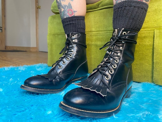 1990s Justin Roper boots
