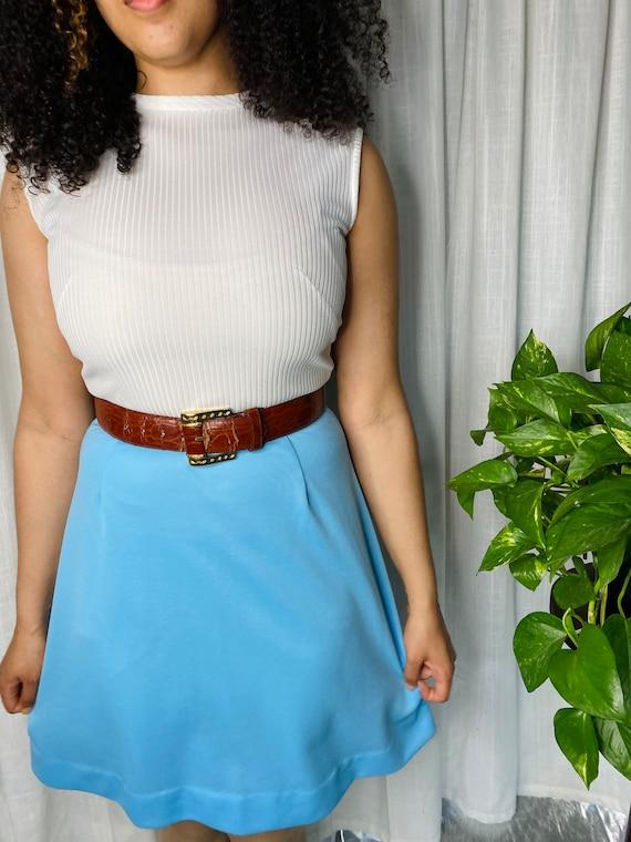 1970s mini dress - image 1