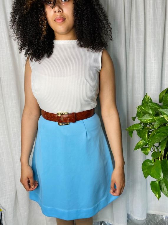 1970s mini dress - image 9