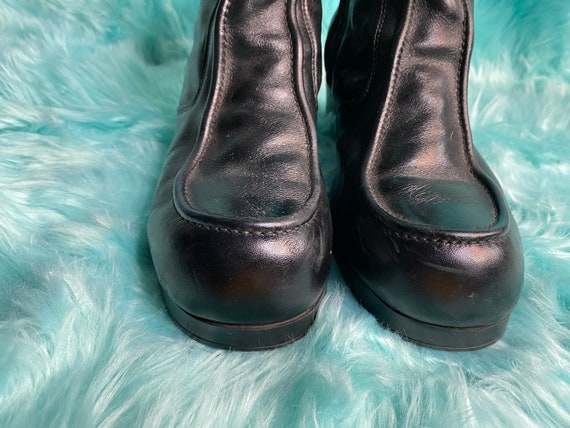 1970s heeled boots