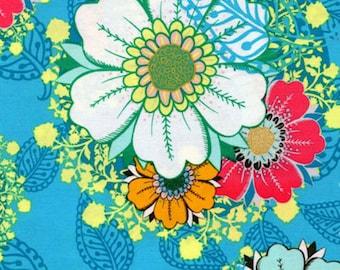 HALF YARD Rhapsodia Mystic Aura Sky Jeni Baker Art Gallery Cotton Fabric RHA-503