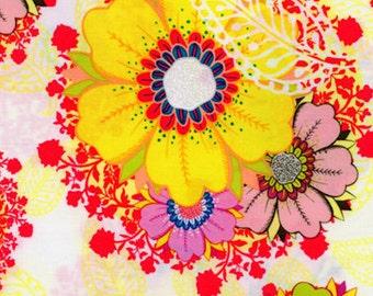 Rhapsodia Mystic Aura Field Jeni Baker Art Gallery Cotton Fabric RHA-403 Fields, By the Yard