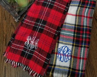 Monogrammed  Scarf--- ONLY 1 LEFT!!!