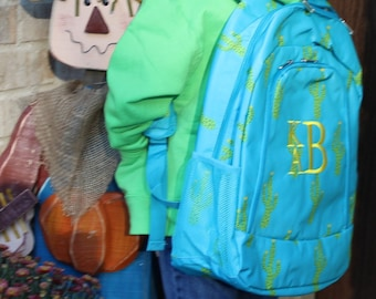 Monogrammed Backpacks....CUTE PRINTS----NEW!!!