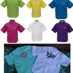 TODDLER  Fishing Shirt/ Monogrammed --Sizes  12 Months- 2/3 - 4/5 --