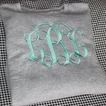 Plus Size Monogrammed Sweatshirt in 3X and 4X--NEW COLORS