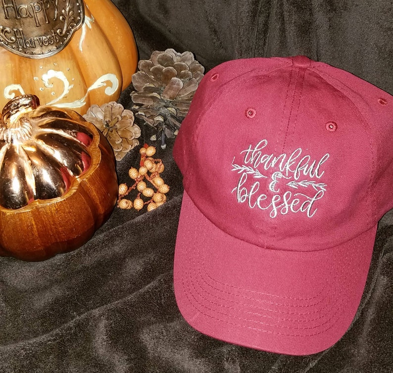 Thankful and Blessed Ball Cap..... image 0