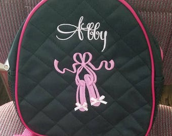 DANCE BAGS!  Monogrammed for your little ballerina! TWO New Colors!!