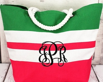 YOUTH BEACH BAG /  Monogrammed/ Child Size