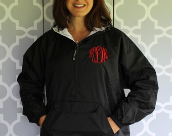 Charles River Lined Pullover/ Windbreaker---CLOSEOUT