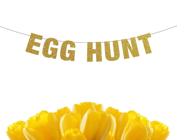 Egg Hunt Banner, Easter Decorations, Easter Banner, Egg Hunt Sign, Easter Decor, Easter Photo Prop, easter photography backdrop