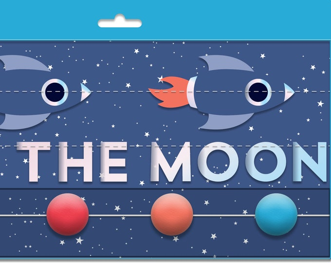 Rocket Banner, 3 Banners, Planet Banner, Love You To the Moon and Back Banner, Planet Party Decorations, Rocket Party Decorations