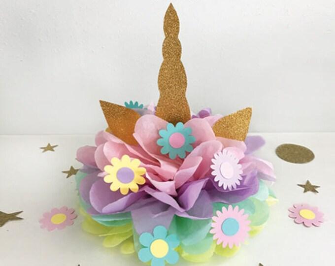 Unicorn Party decoration, Unicorn Horn, Unicorn Birthday Decoration, Unicorn Centerpiece, Unicorn Birthday Party Decoration, Unicorn Party