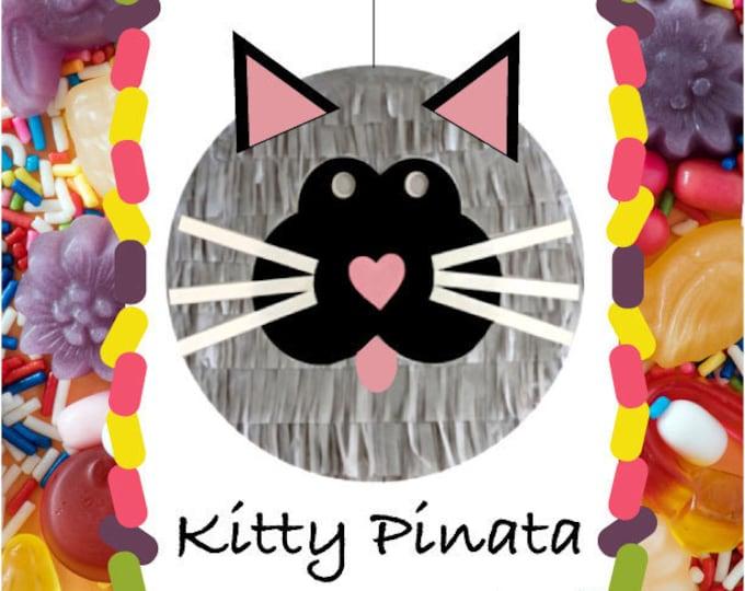 Cat Pinata, Kitty Pinata, Kitty Birthday Party, Cat Party Supplies, Farm Animals PInata, Hello Kitty Party , Cat theme party pinata, Cats