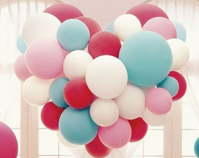 36 inch Balloons,  Round Latex Balloon, GOLD Balloons, Ivory Balloon, Blush Balloon, Lavender Balloon, Turquoise Balloon