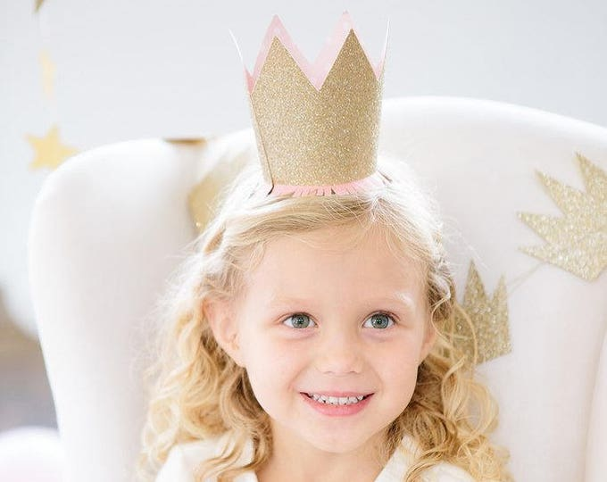 Princess Party Hats, Party Crowns Set of 8, Princess Birthday Decoration, Princess Party, Girls Birthday Ideas, Princess Tiara, PNP408