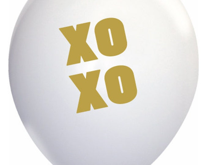 XO XO Balloons, Love Wedding, Valentin Gold Decor, Love You More, Engagement Party the weekend
