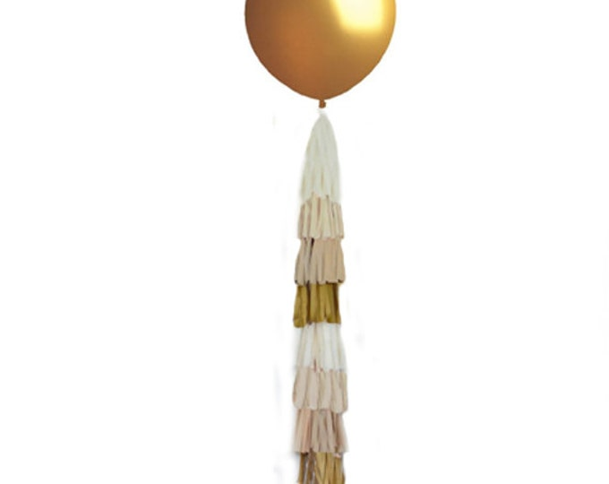 "Giant Gold Balloon 36"", Big 36 inch Balloon, Gold Wedding Decor, Gold Birthday Party"