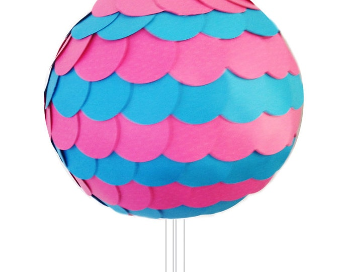 SALE Gender Reveal Pinata  - Like a Gender Reveal Balloon But This is a Pull String Pinata