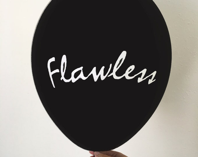 Flawless Balloons, Flawless Party Balloons, Queen B themed Party Decor, Sasha fierce Bachelorette Party Decor, Divorce Balloons