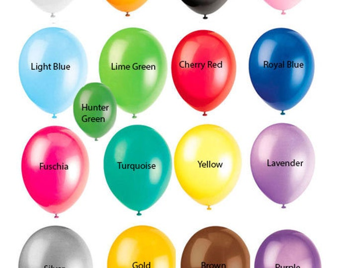 Pastel Rainbow Party, Rainbow Balloon, Latex Balloons 11 Inch, Every color balloon, Pink, Red, Yellow, Blue, Purple, Green, Rainbow Color