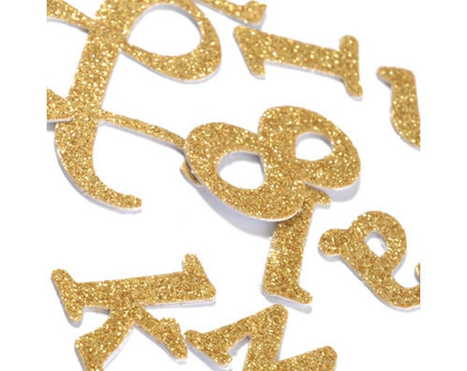 Gold Glitter Letter Stickers, gold Glitter Number Stickers, Silver Letter Stickers, Silver Number Stickers, Gold Numbers