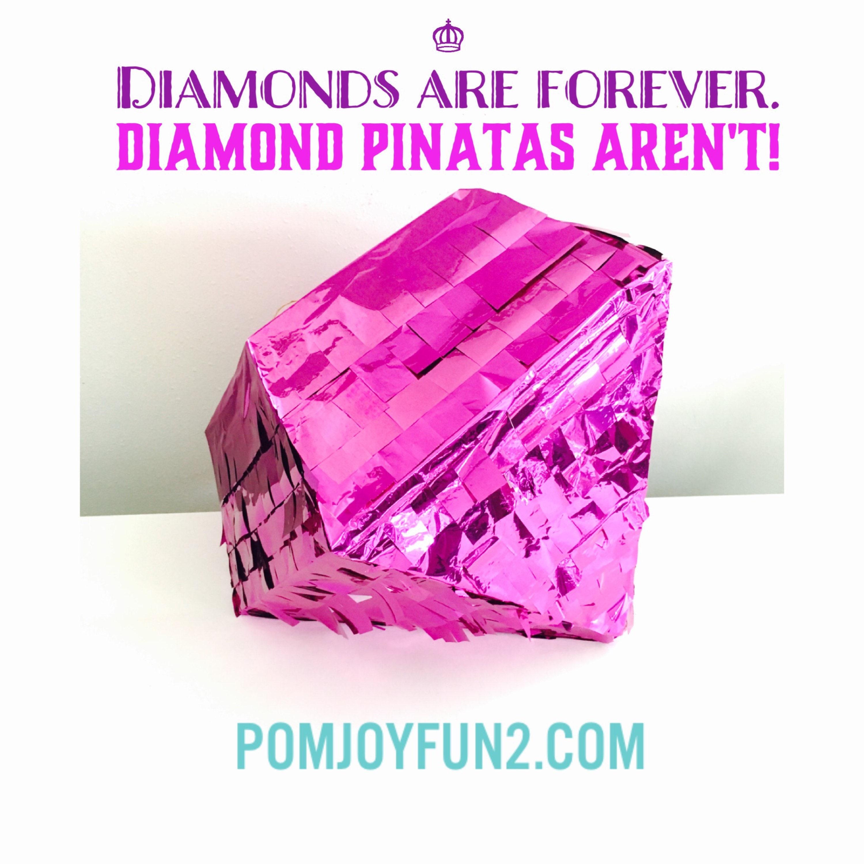 Diamond Pi Ata In Copper, Gold, Rose Gold, Silver, Or