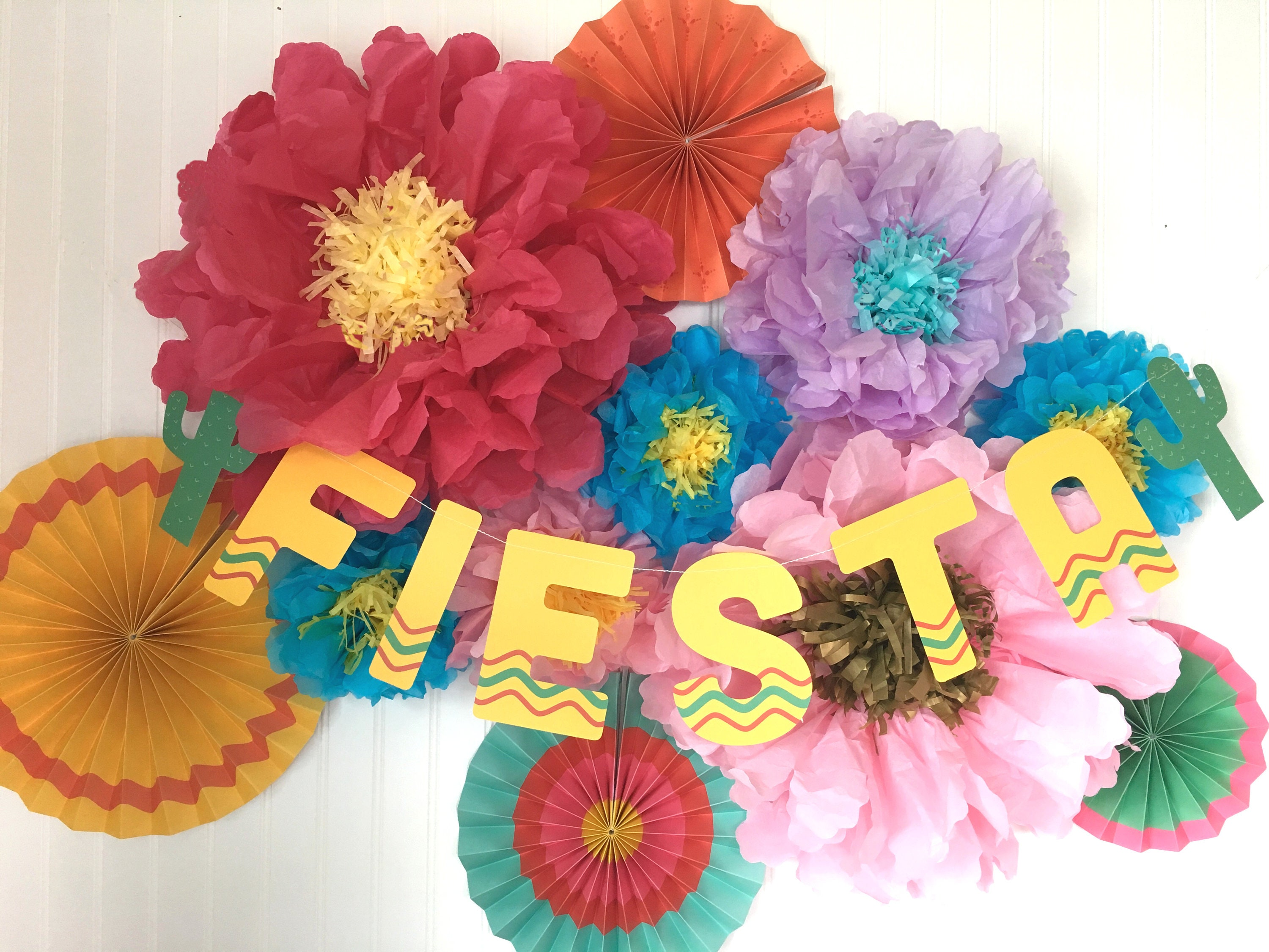 Fiesta Decorations Fiesta Party Cinco De Mayo Decorations Taco