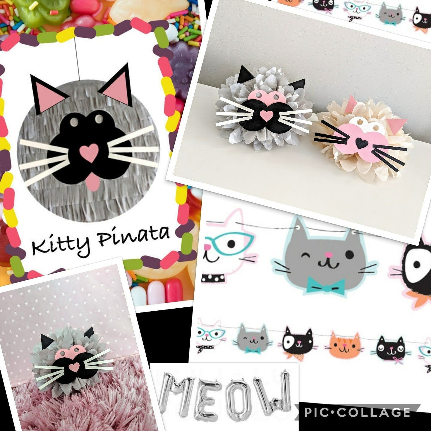 Kitty Party Supplies Cat Birthday Gallery Photo
