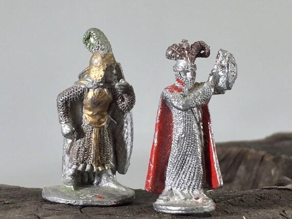 Mer elfes (figurines de jeu de rôle vintage)
