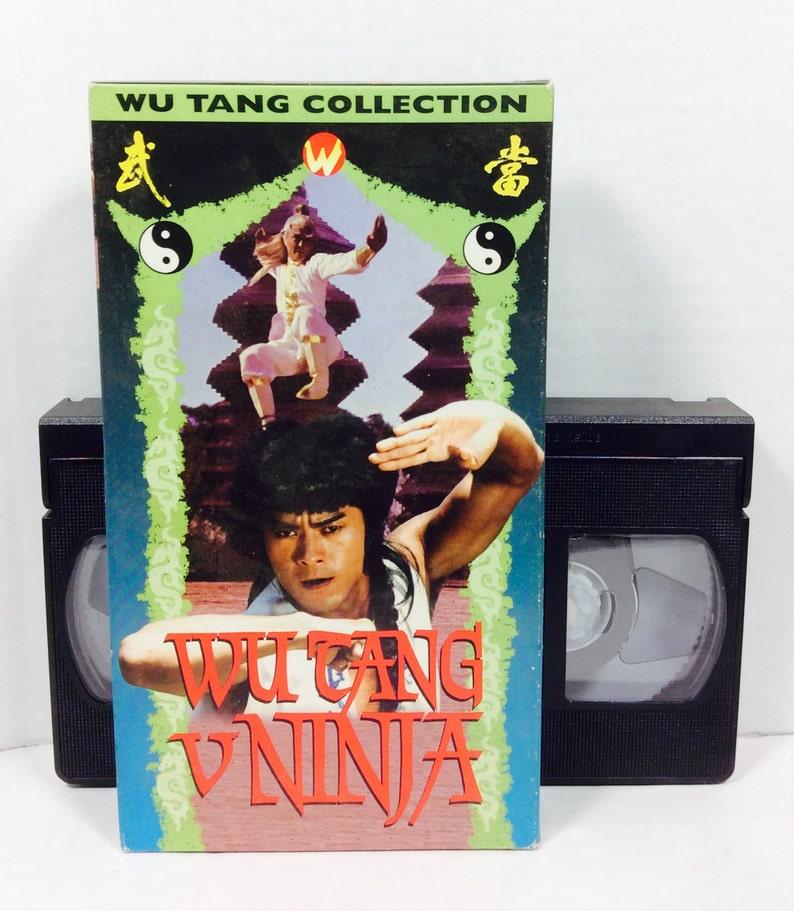 Wu Tang vs Ninja (vintage kung fu vhs)