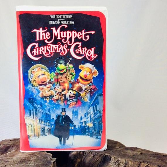 Muppet Christmas Carol Vhs.The Muppet Christmas Carol Vintage Vhs Cassette