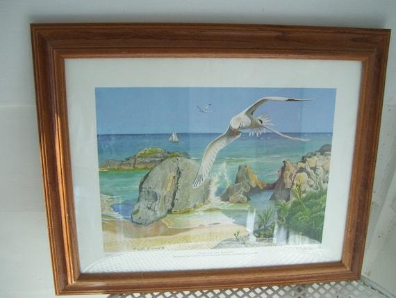 "Vintage Artmark /""COUSIN/"" hand-painted Suncatcher*NEW*"