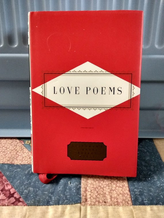 Love Poems By Everymans Library Pocket Poet Library Hardcover Book With Dj