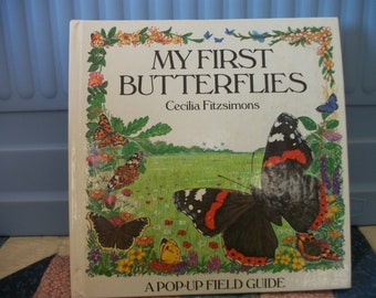 My First Butterflies Pop-Up Field Guide book by  Cecilia Fitzsimons