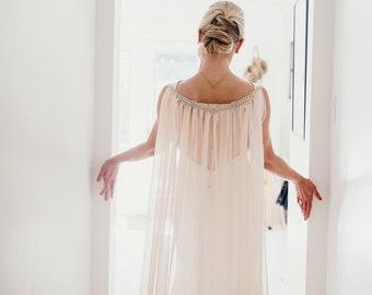 Wedding Cape Veil - Bridal Cape